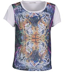 material Women short-sleeved t-shirts DDP PORIX Multicoloured