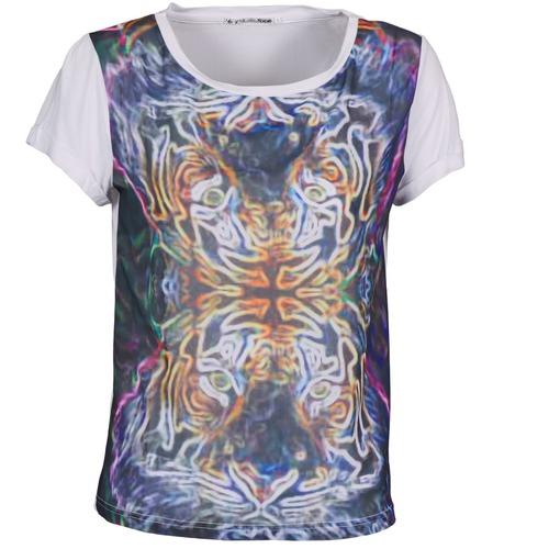 material Women short-sleeved t-shirts DDP PORIX Multicoloured