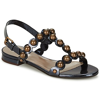 Shoes Women Sandals Marc Jacobs Vegetal Black