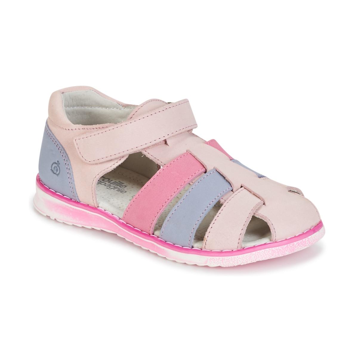 Sandals Citrouille et Compagnie FRINOUI Pink / Blue / Clear / Fuschia