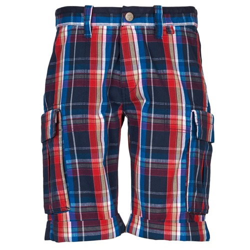 material Men Shorts / Bermudas Oxbow TAKAROA Marine / Red