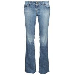 material Women bootcut jeans Acquaverde ADRIANA Blue