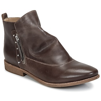 Shoes Women Mid boots Geox ELIXIR C Brown