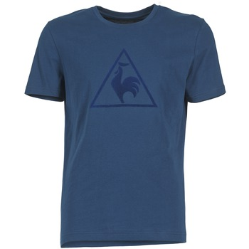 material Men short-sleeved t-shirts Le Coq Sportif ABRITO T MARINE