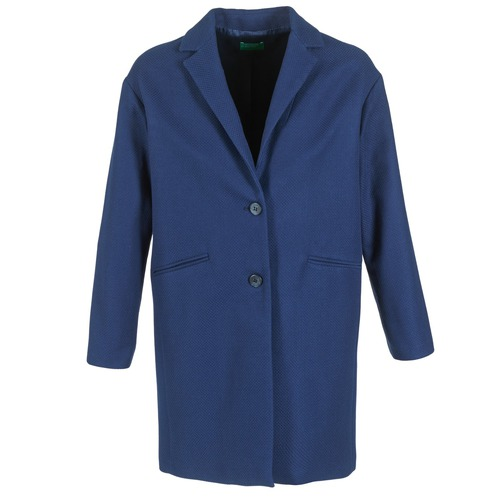 material Women coats Benetton AGRETE Marine