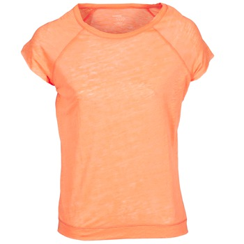 material Women short-sleeved t-shirts Majestic 2105 Orange / Fluorescent