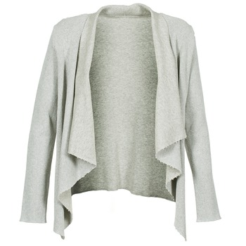 material Women Jackets / Cardigans Majestic 4003 Grey