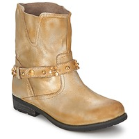Shoes Women Mid boots Moschino Cheap & CHIC CA21013 Gold