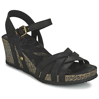 Shoes Women Sandals Panama Jack VERA Black