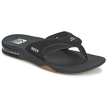 Shoes Men Flip flops Reef FANNING Black
