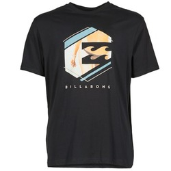 material Men short-sleeved t-shirts Billabong HEXAG SS Black