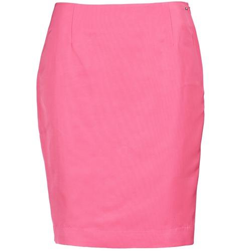material Women Skirts La City JUPE2D6 Pink