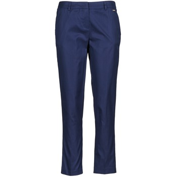 cropped trousers La City PANTD2A Blue 350x350