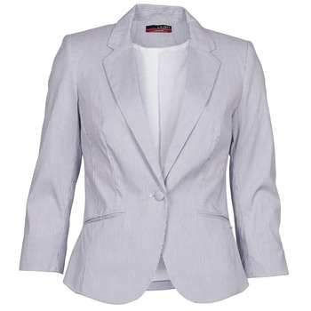 material Women Jackets / Blazers La City VST1D6 Grey