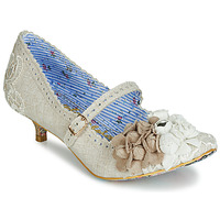 Shoes Women Court shoes Irregular Choice DAISY DAYZ Beige / Multicoloured
