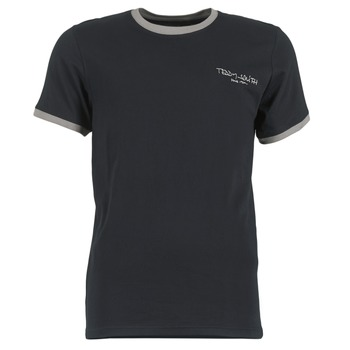 material Men short-sleeved t-shirts Teddy Smith THE-TEE Black