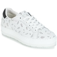 Shoes Women Low top trainers Diesel S-ANDYES  WOMAN White