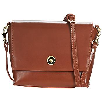 Bags Women Shoulder bags Sabrina SIXTINE Cognac