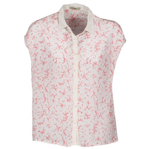 material Women short-sleeved shirts Lola CANYON White / Red