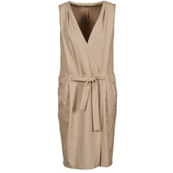material Women Short Dresses Lola ROOT Beige