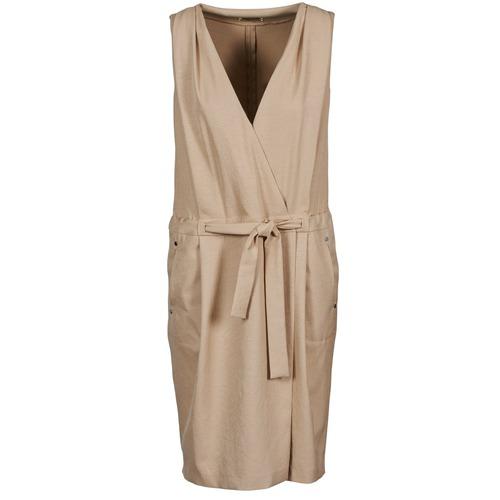 material Women Short Dresses Lola ROOT Beige
