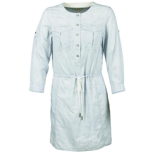 material Women Short Dresses Aigle MILITANY Blue