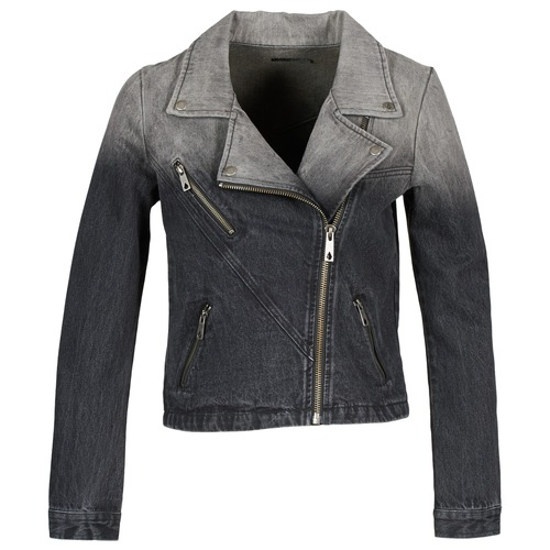 material Women Denim jackets Volcom DENIMES Black