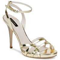 Shoes Women Sandals Escada AS683 Gold