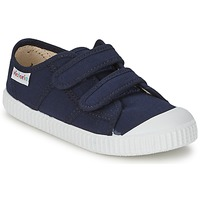 Shoes Children Low top trainers Victoria BLUCHER LONA DOS VELCROS Marine