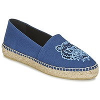 Shoes Women Espadrilles Kenzo TIGER HEAD Blue