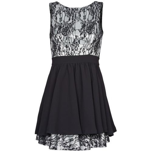 material Women Short Dresses Manoukian 612539 Black