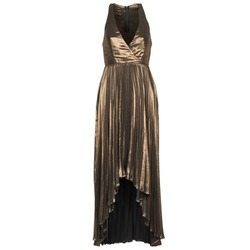 material Women Long Dresses Manoukian 612556 Gold