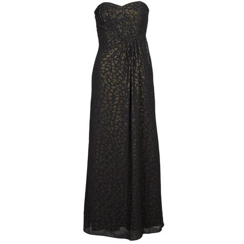 material Women Long Dresses Manoukian 612930 Black / Gold