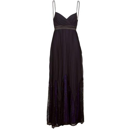material Women Long Dresses Manoukian 612933 Black
