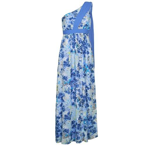 material Women Long Dresses Manoukian 613356 Blue
