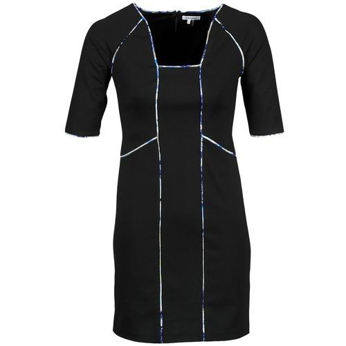 material Women Short Dresses Manoukian 613369 Black