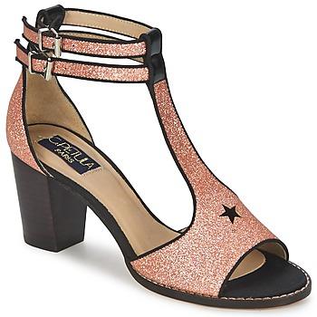Shoes Women Sandals C.Petula JAIMIE Gold / Pink