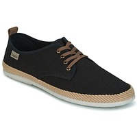 Shoes Men Low top trainers Bamba By Victoria BLUCHER LINO DETALLE SERRAJE Black