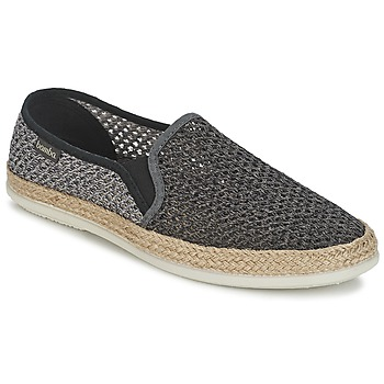 Shoes Men Slip ons Bamba By Victoria COPETE ELASTICO REJILLA Black