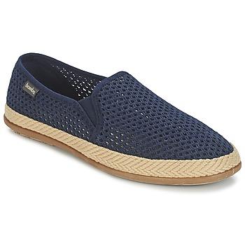 Shoes Men Slip ons Bamba By Victoria COPETE ELASTICO REJILLA TRENZA Marine