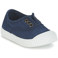 Shoes Children Low top trainers Victoria INGLESA LONA TINTADA Marine