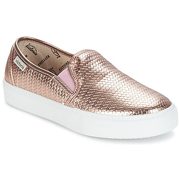 Shoes Women Slip ons Victoria SLIP ON TEJ TRENZA METALIZA Gold