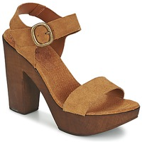 Shoes Women Sandals Bunker SHANA Brown