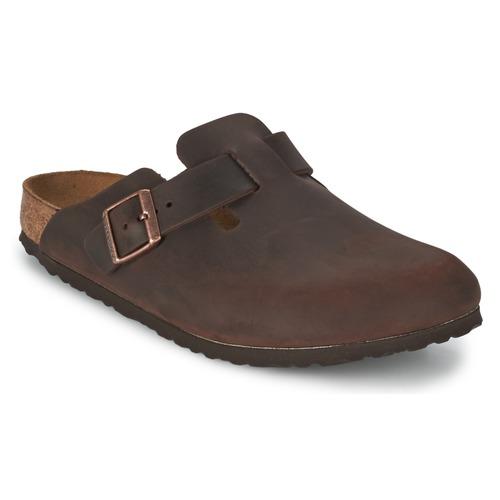 Shoes Clogs Birkenstock BOSTON Brown
