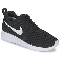 Shoes Boy Low top trainers Nike ROSHE ONE FLIGHT WEIGHT BREATHE JUNIOR Black