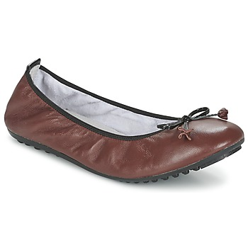 Shoes Women Ballerinas Mac Douglas ELIANE Brown