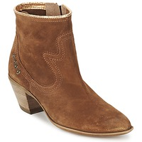 Shoes Women Ankle boots Spiral HEIDI Brown / Gold