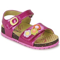 Shoes Girl Sandals Kickers MAGIFLOWER Fuschia