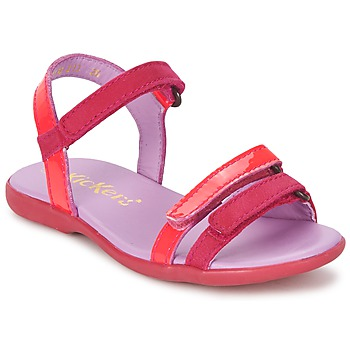 Sandals Kickers ARCENCIEL Fuschia / Pink / Fluorescent 350x350