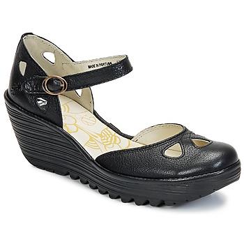 Shoes Women Court shoes Fly London YUNA Black